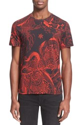 Men's Just Cavalli 'Rock Romance' Print T Shirt
