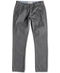 Quiksilver Men's Everyday Chino Pants Dark Shadow