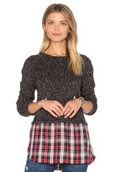 Sanctuary Rock House Pullover Charcoal
