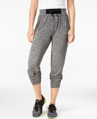 Material Girl Active Juniors' Embellished Jogger Pants Only At Macy's Heather Charcoal