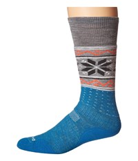 Smartwool Phd Slopestyle Medium Wenke Glacial Blue Men's Knee High Socks Shoes