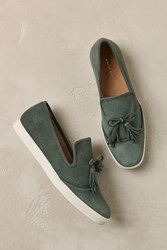 All Black Keaton Suede Loafers Green