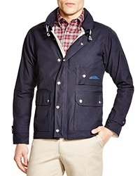 Survivalon Knox Lined Snap Front Jacket Navy