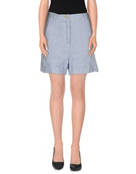 Jucca Denim Denim Bermudas Women Blue