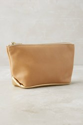 Anthropologie Emily Leather Pouch Brown