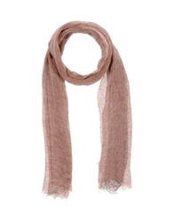 Messagerie Oblong Scarves Maroon