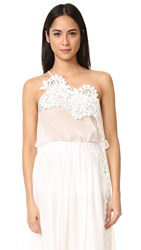 Lila.Eugenie One Shoulder Top Ivory