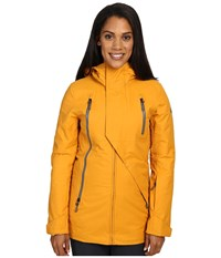 The North Face Allchipsin Jacket Citrine Yellow Wax Women's Coat