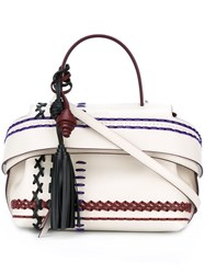 Tod's 'Wave' Tote White