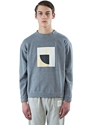 Colo Arty Crew Neck Sweater Grey