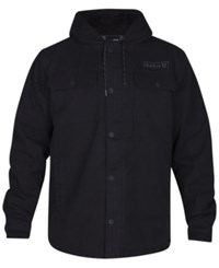 Hurley Men's Belesky 2.0 Hooded Jacket Black