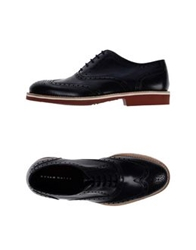 Brian Dales Lace Up Shoes Dark Blue
