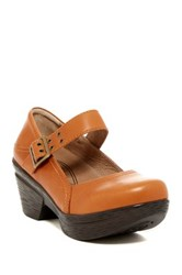 Sanita Nyla Mary Jane Pump Brown