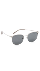 Linda Farrow For 3.1 Phillip Lim Frosted Smoked Sunglasses