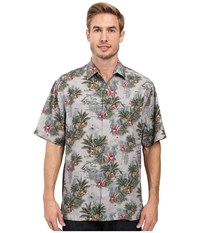 Tommy Bahama Mapa Valley Shirt Black Men's Clothing