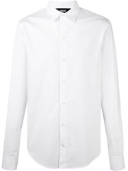 Hood By Air Logo Print Shirt White
