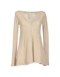 Coast Weber And Ahaus Long Sleeve Sweaters Beige