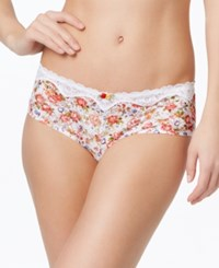 Whimsy By Lunaire Saint Lucia Helenca Lace Hipster 15932 White Floral