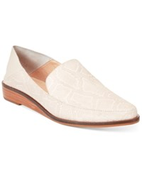 Kelsi Dagger Brooklyn Aada Pointed Toe Wedge Flats Women's Shoes Ivory
