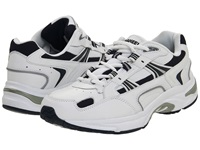 Vionic With Orthaheel Technology Walker White Navy Men's Shoes