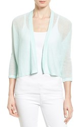 Women's Eileen Fisher Crop Kimono Cardigan Flower