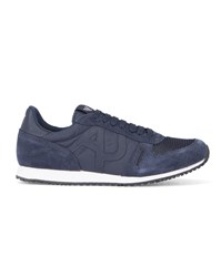 Armani Jeans Navy Aj Logo Running Shoes Blue