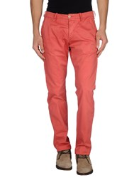 Uniform Trousers Casual Trousers Men Red