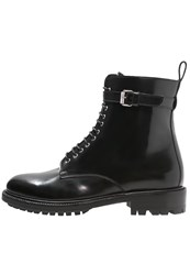 Belstaff Finley Laceup Boots Black