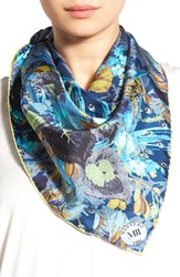 Christian Lacroix Women's Mantero 'Bouquet' Silk Twill Scarf