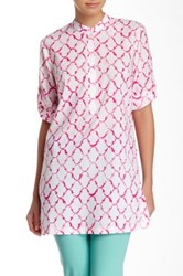 J. Mclaughlin Sandy Lawn Tunic Pink