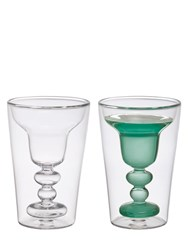 Bitossi Home Set Of 2 Margarita Glasses