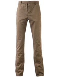 Band Of Outsiders Chino Trousers Brown