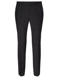Hugo Huge Genius Virgin Wool Slim Fit Suit Trousers Black