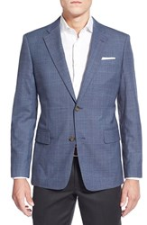 Men's Nordstrom Classic Fit Windowpane Wool Sport Coat