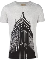 Burberry 'Big Ben' T Shirt Grey