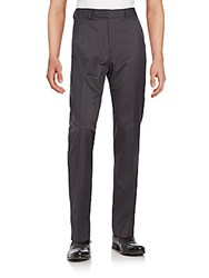 Saks Fifth Avenue Striped Pants Charcoal