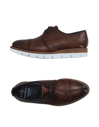Barracuda Footwear Lace Up Shoes Men Cocoa