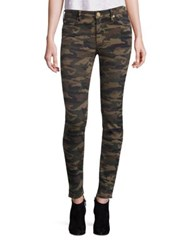 True Religion Camo Printed Bodycon Pants