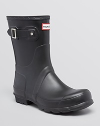 Hunter Original Short Boots Black