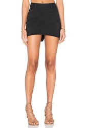 One Teaspoon Mini Freelove Skirt Black Panther