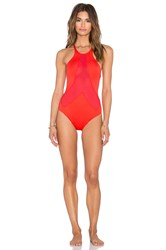 Vitamin A Rayna Swimsuit Red