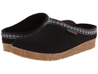 Haflinger Gz Classic Grizzly Black Clog Shoes