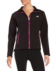 New Balance Soft Shell Jacket Black