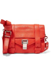 Proenza Schouler The Ps1 Mini Leather Satchel Bright Orange
