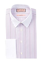 Thomas Pink Hedley Long Sleeve Super Slim Fit Dress Shirt White
