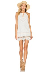 Lovers Friends Under The Sun Dress White