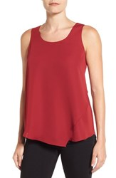 Nic Zoe Women's 'Promenade' Asymmetrical Double Layer Tank