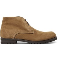Harry's Of London Harrys Griffen Suede Chukka Boots Beige