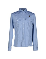 Blauer Shirts Sky Blue