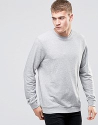 New Look Sweatshirt In Grey Mid Grey